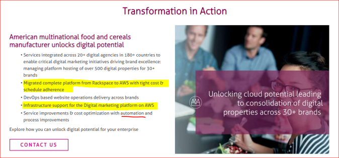 Mindtree, Digital and Case Study